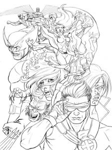 X-men-coloring-pages-9