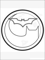 batman logo coloring pages free printable batman logo