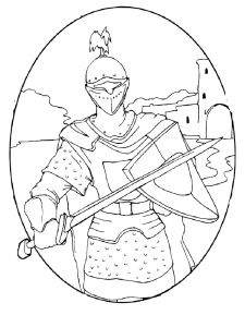 castles-and-knights-coloring-pages-for-boys-2