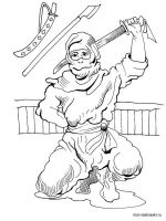 Ninja coloring pages. Free Printable Ninja coloring pages.
