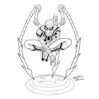 coloring-pages-spiderman-15