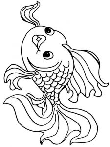 Goldfishes-coloring pages-10