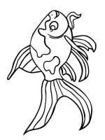 Goldfishes-coloring pages-7