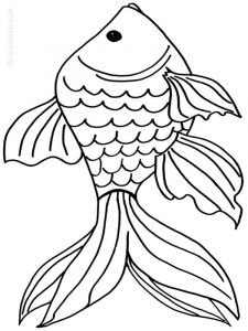 Goldfishes-coloring pages-9