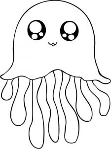 Jellyfish-coloring pages-7
