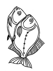 Piranhas-coloring pages-2
