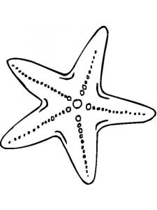 Starfish-coloring pages-1