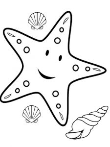 Starfish-coloring pages-4