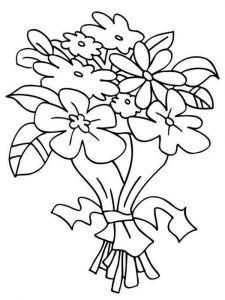 Flower-Bouquet-coloring-page-1