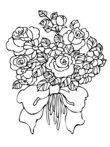 Flower-Bouquet-coloring-page-10