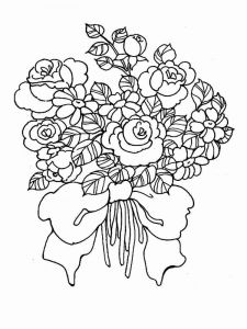 Flower-Bouquet-coloring-page-12
