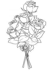 Flower-Bouquet-coloring-page-17
