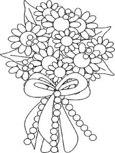 Flower-Bouquet-coloring-page-2
