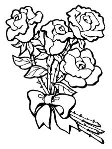 Flower-Bouquet-coloring-page-6