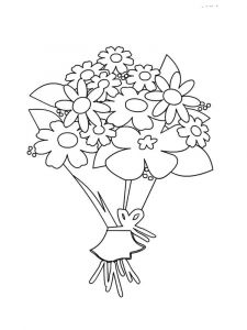 Flower-Bouquet-coloring-page-9