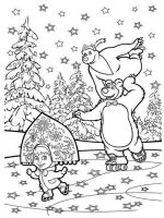 Mascha-and-bear-coloring-pages-22