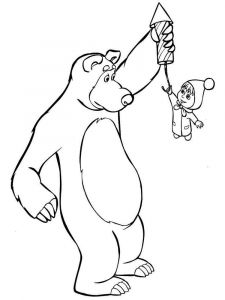 Mascha-and-bear-coloring-pages-23