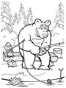 Mascha-and-bear-coloring-pages-33
