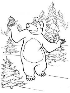 Mascha-and-bear-coloring-pages-7