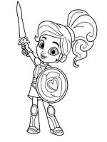 Nella-the-Princess-Knight-coloring-pages-2