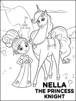 Nella-the-Princess-Knight-coloring-pages-3