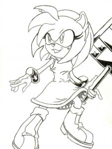 amy-rose-coloring-pages-9