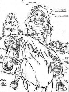 barbie-and-horse-coloring-pages-3