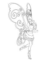 barbie fairy coloring pages download and print barbie fairy coloring pages
