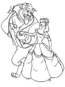 beauty-and-the-beast-coloring-pages-10