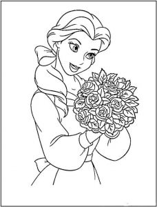 beauty-and-the-beast-coloring-pages-18