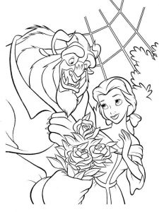 beauty-and-the-beast-coloring-pages-4