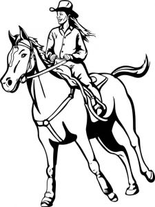 cowgirl-and-horses-coloring-pages-9