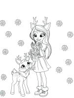 Enchantimals coloring pages. Download and print ...