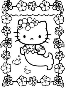 hello-kitty-mermaid-coloring-pages-4