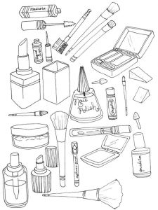 makeup-coloring-pages-1