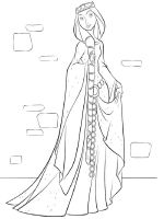 queen-coloring-pages-4