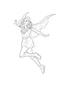 supergirl-coloring-pages-12