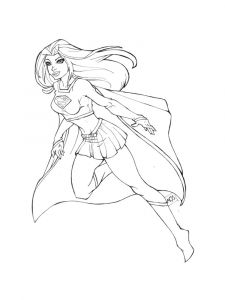 supergirl-coloring-pages-2