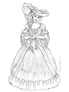 victorian-woman-coloring-pages-4