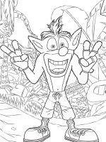 Crash-Bandicoot-coloring-pages-2