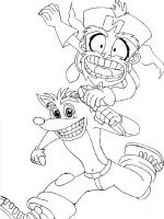 Crash-Bandicoot-coloring-pages-24
