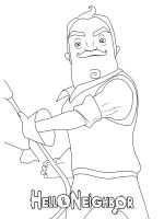 Hello-Neighbor-coloring-pages-15