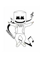 Marshmello-Fortnite-coloring-pages-12