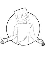 Marshmello-Fortnite-coloring-pages-4