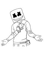 Marshmello-Fortnite-coloring-pages-8