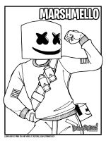 Marshmello-Fortnite-coloring-pages-9