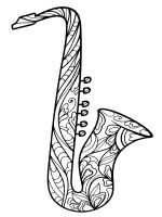 Saxophone-coloring-pages-11