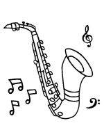Saxophone-coloring-pages-5