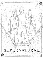 Supernatural-coloring-pages-7