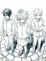 The-Promised-Neverland-coloring-pages-11